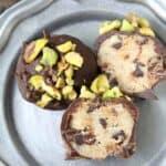 Cannoli Cream Chocolate Truffles - easy truffle dessert recipe like Italian cannolis