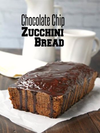 Chocolate Chip Zucchini Bread - recipe for zucchini bread with chocolate chips