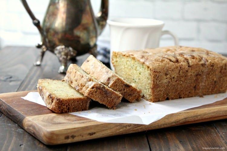 Lemon Zucchini Bread - easy homemade zucchini bread bread and best way to use up zucchini
