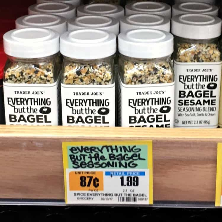 Best Trader Joe's Products (bagel seasoning)
