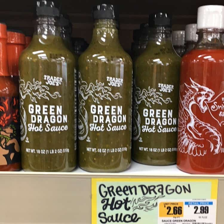 Best Trader Joe's Products (green dragon hot sauce)