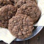 Chocolate Banana Oatmeal Cookies - easy homemade banana oatmeal cookies