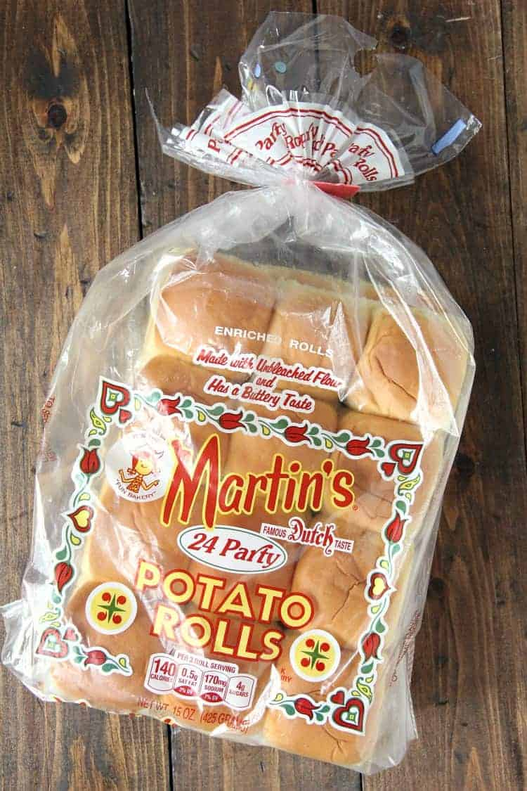 Martin's Party Potato Rolls