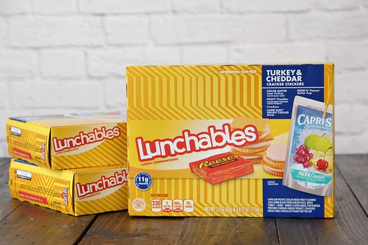 Boxes of Turkey & Cheddar Lunchables