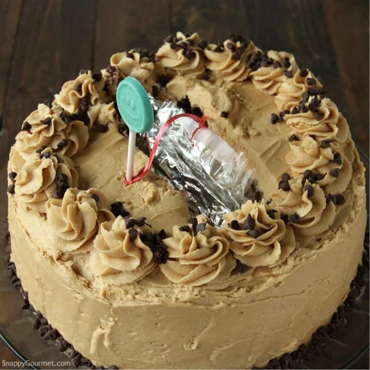 Money Cake (DIY Fun Cake with Money Inside!) - Snappy Gourmet