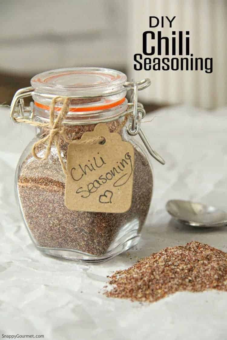 chili seasoning in jar