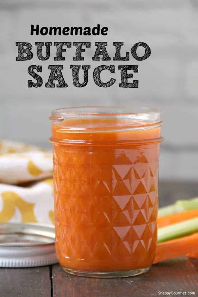 buffalo sauce in glass jar